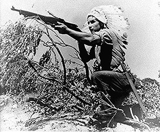 Native Americans and World War II - Image: Dan waupose