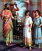 Dániel prófétaés a három ifjú