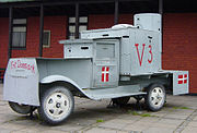 Railway shop workers built this vehicle for use by the Danish resistance movement near the end of World War II