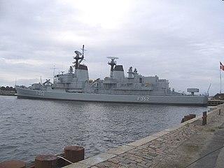 HDMS <i>Peder Skram</i> (F352) museum ship in Copenhagen