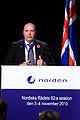 Danmarks forre uforsvarsminister Soeren Gade vid Nordiska Radets session i Reykjavik. 2010-11-03.jpg