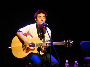"David Choi - David sings ""This And That"" at the Esplanade in Singapore"