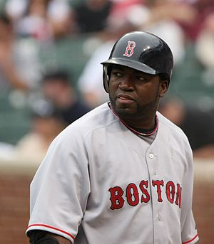 English: David Ortiz Boston Red Sox player.