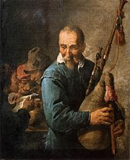David Teniers (II) - The Musette-Player - WGA22078.jpg