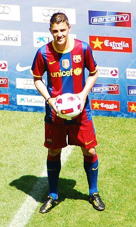 David Villa - Barcelona Spanyol - Foto Eksklusif