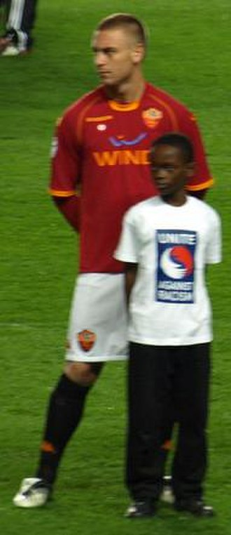 Daniele De Rossi - De Rossi with Roma