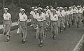 """De deelneemsters van WSV """"De Haagsche Vierdaagsche"""" op het parcours van 40 km. o – F42140 – KNBLO.jpg"""