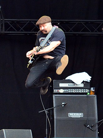 Death by Stereo - Image: Death by Stereo – Reload Festival 2015 04