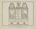 Decoratie in de Beurssteeg, 1795 van het revolutie plyn te zien (titel op object), BI-B-FM-099-16.jpg