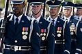 Defense.gov News Photo 101111-F-3431H-243 - Airmen with the Air Force Honor Guard at Bolling Air Force Base Washington D.C. perform during a Veteran s Day parade in Las Vegas Nev. on.jpg