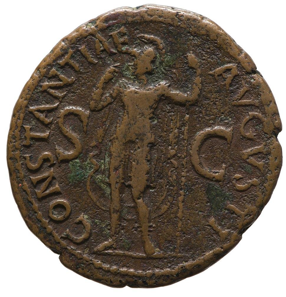 Denarius of Claudius (YORYM 2001 1433) reverse