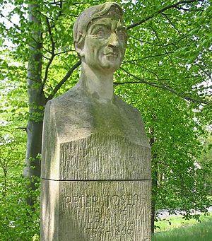 Peter Joseph Lenné - Bust in Landschaftspark Petzow