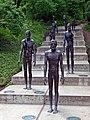 Denkmal an die Opfer der Unterdrückungen durch das kommunistische Regime - Pomník obětem komunismu, Praha, Prague, Prag - panoramio.jpg