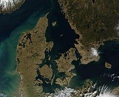 detaljert kart over danmark Dansk geografi – Wikipedia detaljert kart over danmark