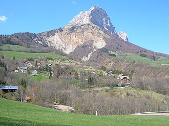 Savoy Prealps - The Dent de Crolles, in the SW part of the range