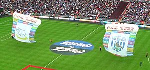 2007 Football League Championship play-off Final - Image: Derby WBA crests 2007 FLC playoff final