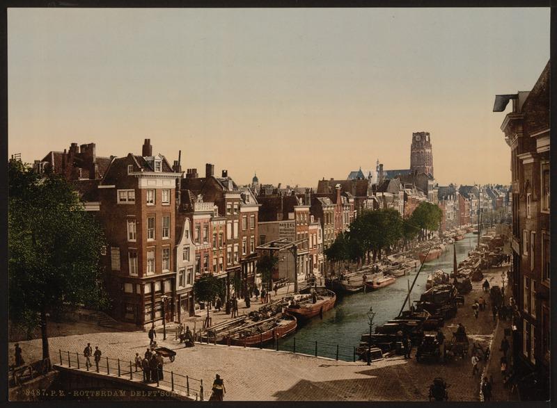 File:Detroit Publishing Company - Rotterdam - Delftsevaart, c. 1895 - Original scan.tiff