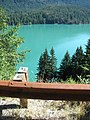 Diablo Lake with it's odd color from the rock flower of glacier melt (4936822077).jpg