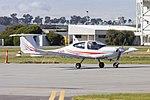 Diamond Star DA-40 (VH-END) taxiing at Wagga Wagga Airport.jpg