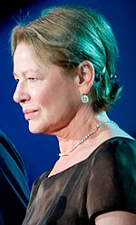 Photo of Dianne Wiest at the National Memorial Day Concert in 2009.