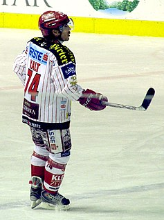 Dieter Kalt Austrian league ice hockey player