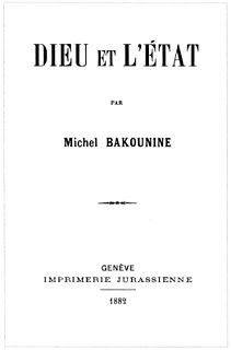 <i>God and the State</i> book by Mikhail Bakunin