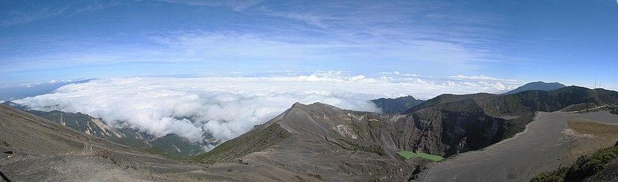 Volcán Irazú, Costa Rica.
