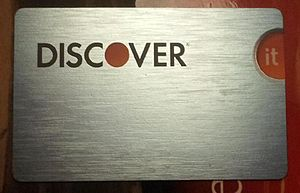 Discover Card - Discover it card, the flagship card issued by Discover Financial Services.