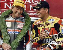 Joey Dunlop en David Jefferies