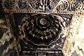 Domical bay ceiling in the mantapa of Someshvara temple at Haranahalli.JPG