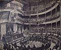 Domingo Sarmiento abre el periodo ordinario de sesiones en el Congreso (1872).JPG