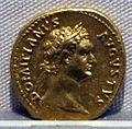 Domiziano, aureo, 81-96 ca., 01.JPG