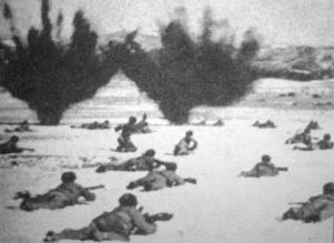 Войска китайских коммунистов в зимней