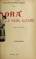 Dora, la viuda alegre - opereta en un acto, dividido en tres cuadros y un intermedio (IA doralaviudaalegr4358leha).pdf