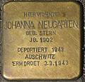 Dortmund Stolperstein Johanna Neugarten.jpg
