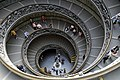 Double spiral anticlockwise Staircase by Giuseppe Momo in the Vatican Museums.jpg