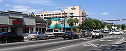 Dsg Gainesville 13th and University Intersection Approach 20050507.jpg