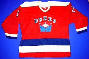 Dukes of Hamilton - Hamilton Dukes road jersey