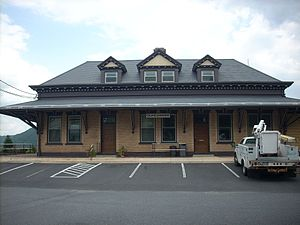 Duncannon, Pennsylvania - Former Duncannon train depot