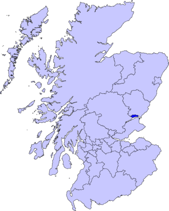 Barony of Craigie - Much of the Barony of Craigie lies within Dundee in Scotland.