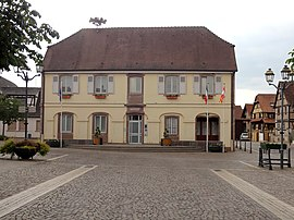 The town hall in Duppigheim