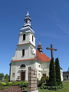 Dziemiany Village in Pomeranian Voivodeship, Poland