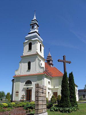 Dziemiany - Church