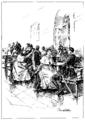 E.P. Samokish-Sudkovskaya-N.A. Lukhmanova-Girls-Meeting with Relatives (b-w).png