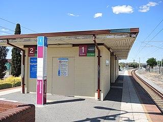 Bayswater railway station, Perth Railway station in Perth, Western Australia