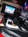 E3 Expo 2012 - GREE booth driving game (7640584518).jpg