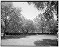 EAST SIDE, LEFT TO RIGHT- KENNELS, STABLE - Auldbrass, Stable Complex, River Road, Yemassee, Hampton County, SC HABS SC,7-YEMA.1A-3.tif