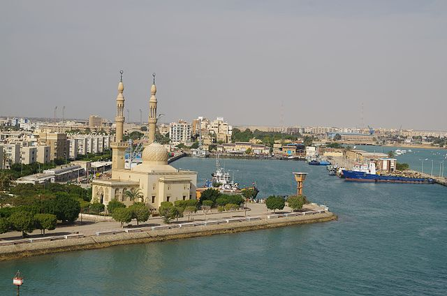 Canale di Suez - Author Balou46