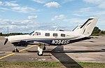 EGLK - Piper PA-46-350P Malibu Mirage - N394SE (43168875555).jpg