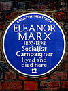 ELEANOR MARX 1855-1898 Socialist Campaigner lived and died here.jpg